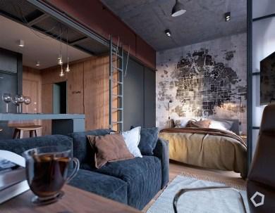 Brilliant Studio Apartment Decor Ideas On A Budget 18