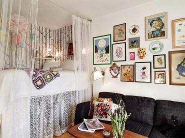 Brilliant Studio Apartment Decor Ideas On A Budget 23
