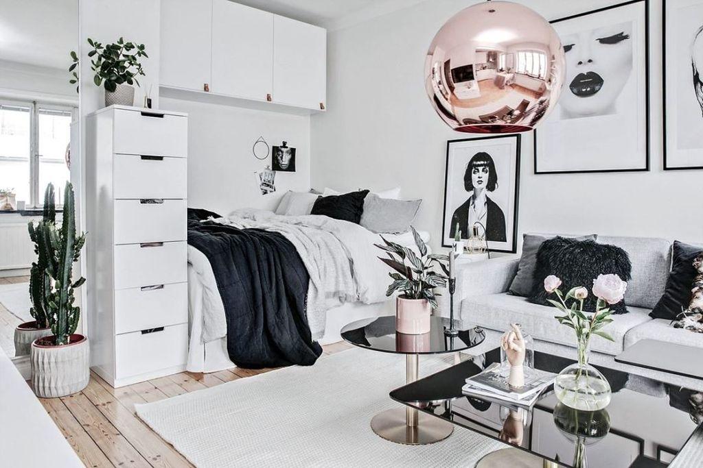 Brilliant Studio Apartment Decor Ideas On A Budget 25