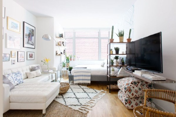 Brilliant Studio Apartment Decor Ideas On A Budget 27
