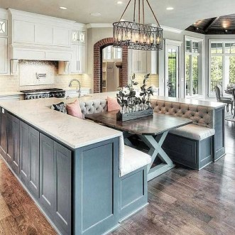 Cool Kitchen Island Design Ideas 36
