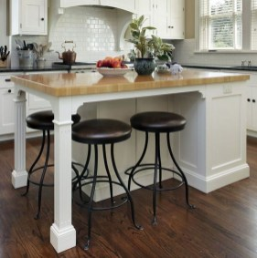 Cool Kitchen Island Design Ideas 40