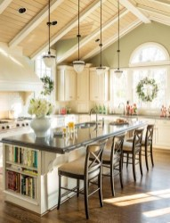 Cool Kitchen Island Design Ideas 42