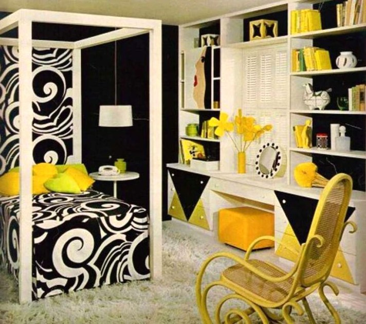 Delightful Yellow Bedroom Decoration And Design Ideas 31