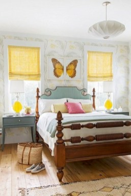 Delightful Yellow Bedroom Decoration And Design Ideas 42