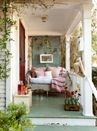 Elegant Front Porch Valentines Day Decor Ideas 01