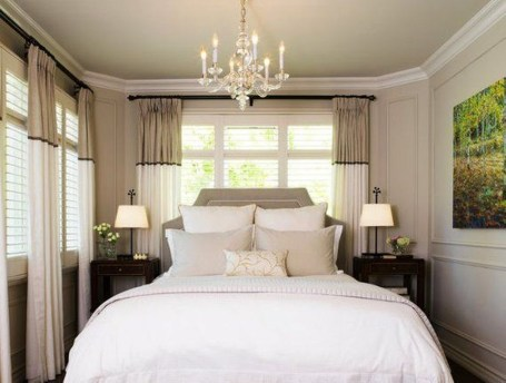 Elegant Small Master Bedroom Inspiration On A Budget 06