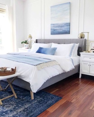 Elegant Small Master Bedroom Inspiration On A Budget 29