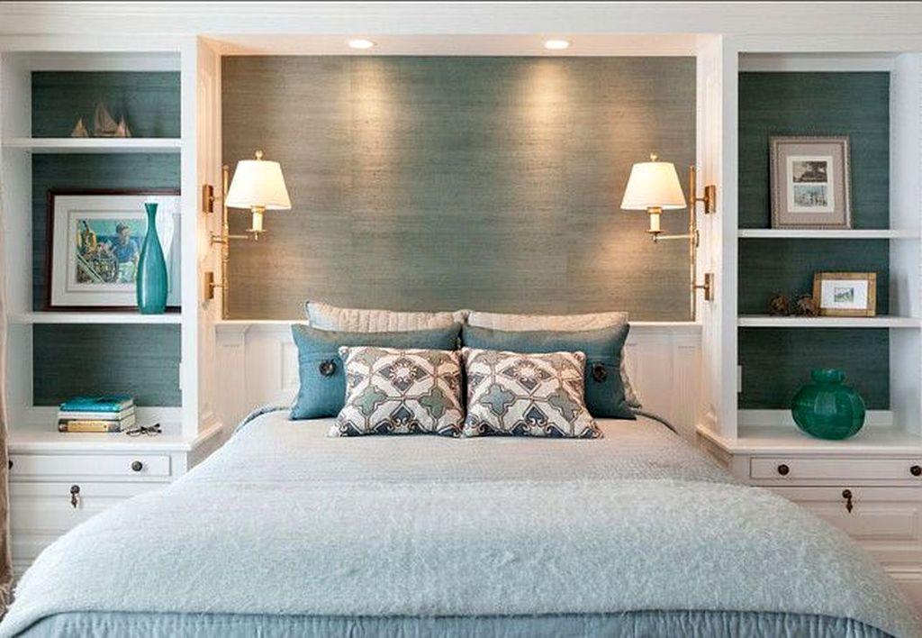 Elegant Small Master Bedroom Inspiration On A Budget 44