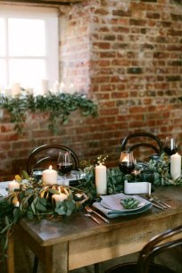 Extraordinary Winter Table Decoration You Can Make 13