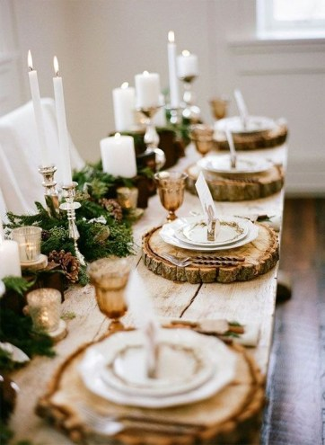 Extraordinary Winter Table Decoration You Can Make 33