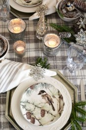 Extraordinary Winter Table Decoration You Can Make 51