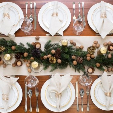 Extraordinary Winter Table Decoration You Can Make 53