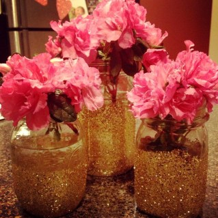 Fabulous Valentines Day Mason Jar Decor Ideas 31