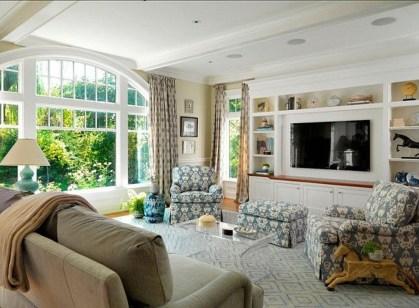 Gorgeous Winter Family Room Design Ideas 07