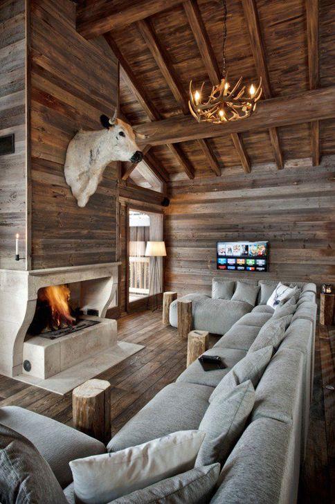 Gorgeous Winter Family Room Design Ideas 22
