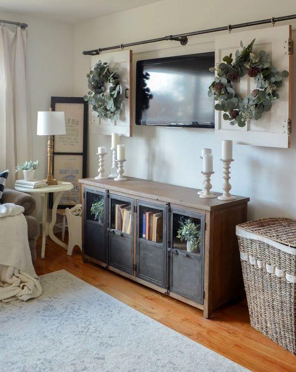Gorgeous Winter Family Room Design Ideas 35