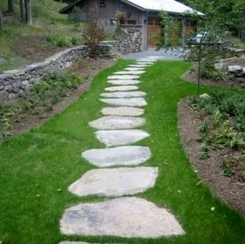 Innovative Stepping Stone Pathway Decor For Your Garden 25