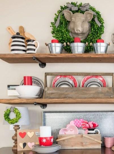 Inspiring Farmhouse Style Valentines Day Decor Ideas 14