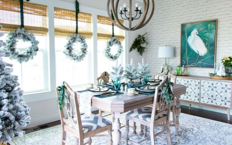 Neutral Winter Decoration Ideas For Your Home 19