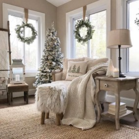 Neutral Winter Decoration Ideas For Your Home 25