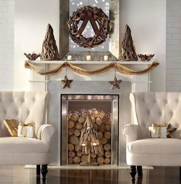 Neutral Winter Decoration Ideas For Your Home 35