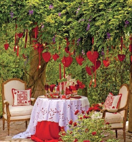 Romantic Home Decoration Ideas For Your Valentines Day 03