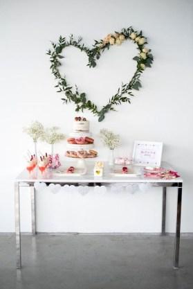 Romantic Valentines Day Wedding Inspiration Ideas 21