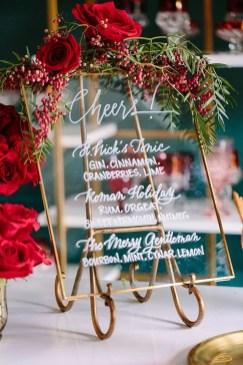 Romantic Valentines Day Wedding Inspiration Ideas 35