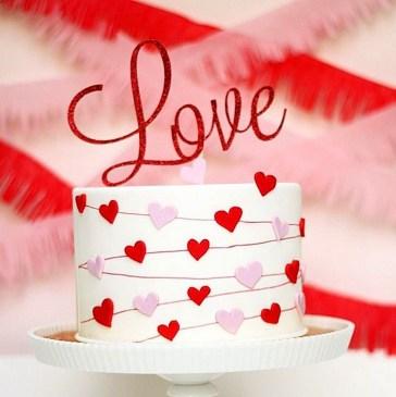 Romantic Valentines Day Wedding Inspiration Ideas 36