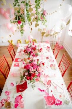 Romantic Valentines Day Wedding Inspiration Ideas 38