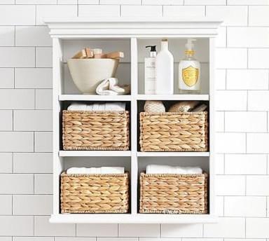 Simple But Modern Bathroom Storage Design Ideas 06
