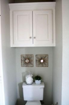 Simple But Modern Bathroom Storage Design Ideas 16