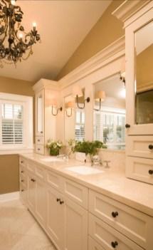 Simple But Modern Bathroom Storage Design Ideas 24