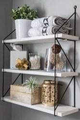 Simple But Modern Bathroom Storage Design Ideas 33