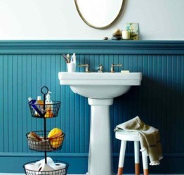 Simple But Modern Bathroom Storage Design Ideas 36