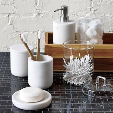 Simple But Modern Bathroom Storage Design Ideas 47