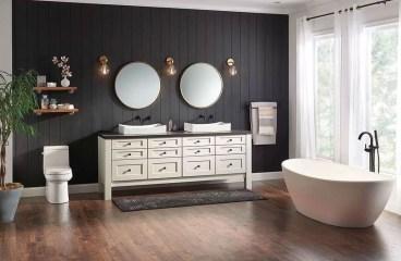 Simple Traditional Bathroom Design Ideas 22