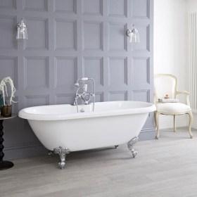 Simple Traditional Bathroom Design Ideas 59
