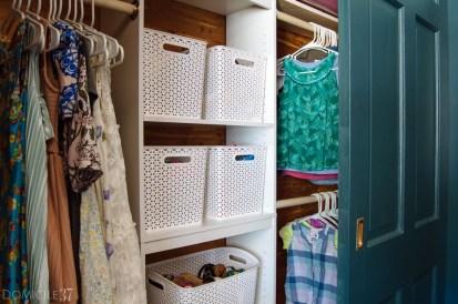 Totally Inspiring Kids Closet Organization Ideas 13