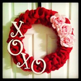 Wonderful DIY Valentines Wreath Decor Ides 18