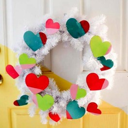 Wonderful DIY Valentines Wreath Decor Ides 28