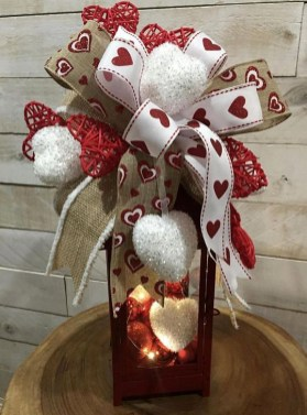 Wonderful DIY Valentines Wreath Decor Ides 31