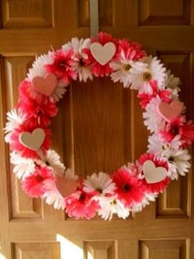 Wonderful DIY Valentines Wreath Decor Ides 33