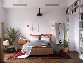 Astonishing Scandinavian Bedroom Design Ideas 38