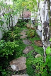 Best DIY Garden Path Designs You Can Bulid To Complete Your Gardens 43