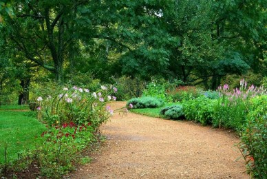 Best DIY Garden Path Designs You Can Bulid To Complete Your Gardens 45
