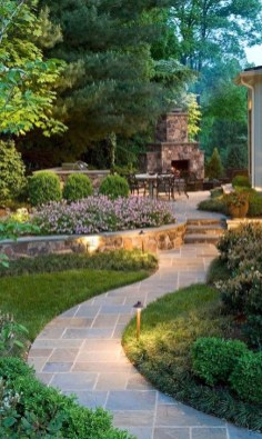 Best DIY Garden Path Designs You Can Bulid To Complete Your Gardens 50