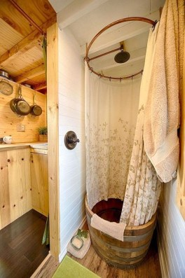 Cool Tiny House Bathroom Remodel Design Ideas 08