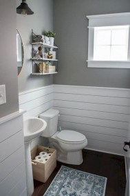 Cool Tiny House Bathroom Remodel Design Ideas 13